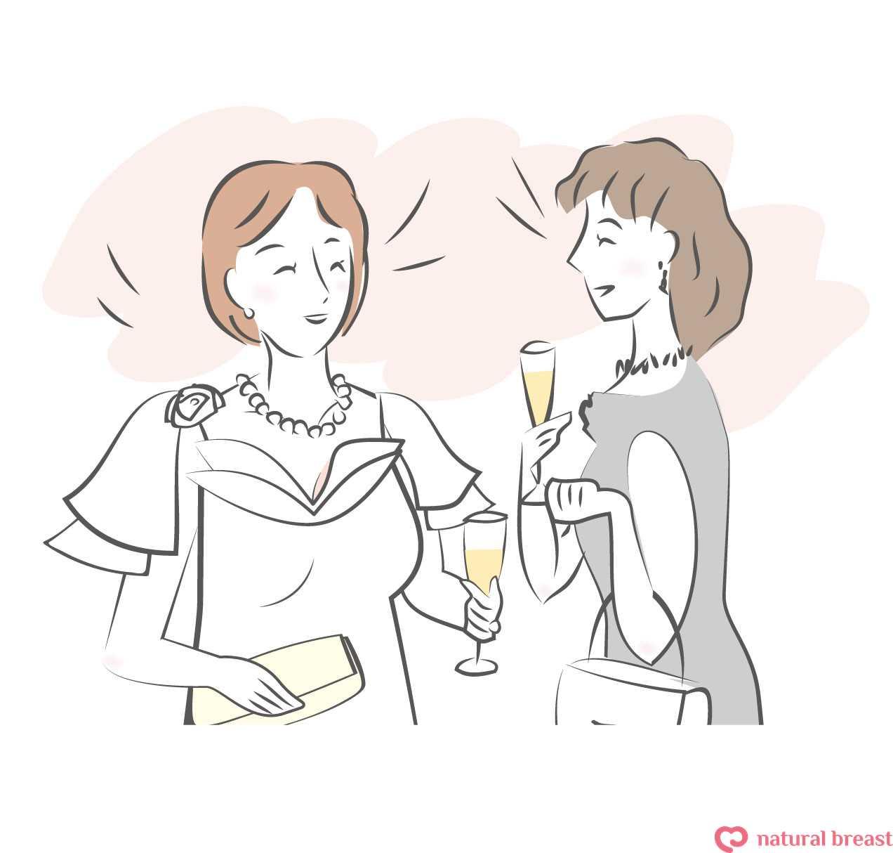 ぴったりの人工乳房で服選びが楽しみです。